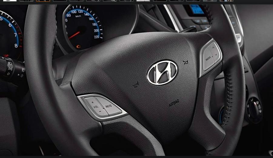 Lançamento Hyundai HB20 Volante Revestido em Couro