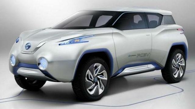 Nissan Concept Terra exibido no Salão de Paris 2012
