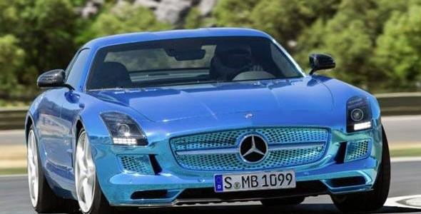 Conheça o LS AMG Coupé Electric Drive, o carro elétrico mais veloz do mundo