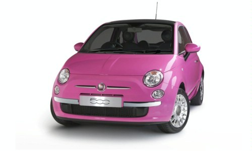 Fiat 500 Pink Limited Edition