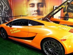carro da neymar