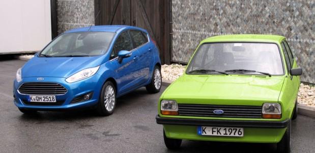 Novo New Fiesta 2013 2014 hatch que será lançado no brasil na Europa x modelo que foi lancado na decada de 80