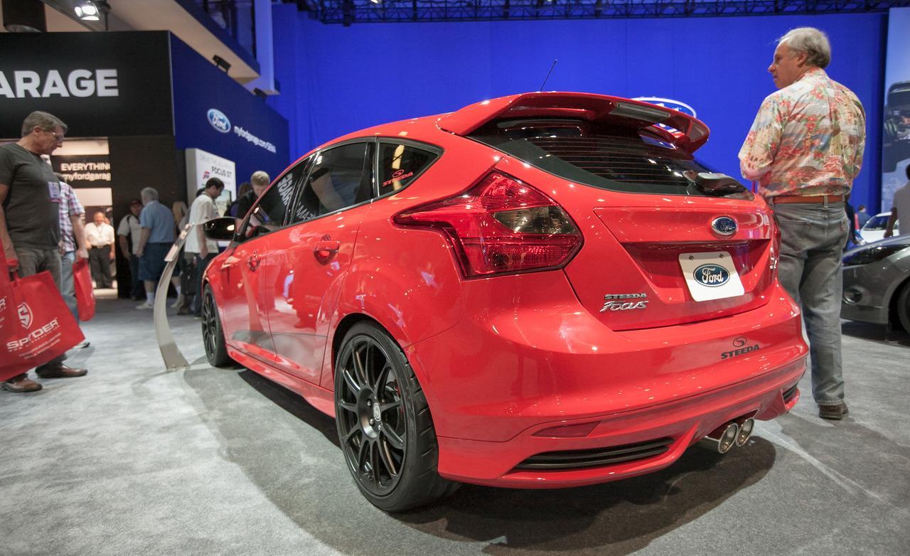 Novo ford focus 2014 versão hatch modelo tunado no mercado americano
