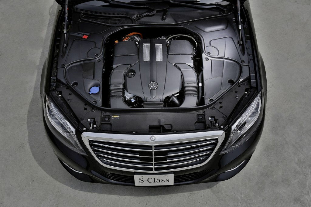 Mercedes S500 plug in híbrido que faz 100 km com 1 litro de combustível frankfurt 2013